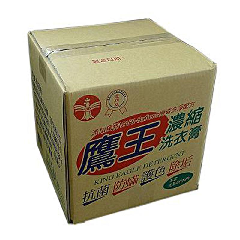 鷹王濃縮洗衣膏10kg/箱
